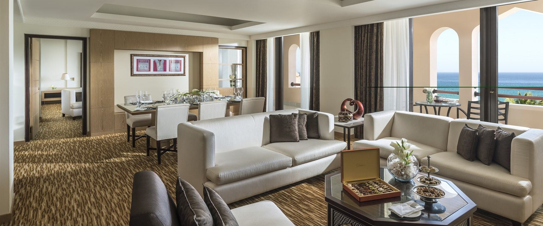 Living Area at Shangri-La's Barr Al Jissah Resort & Spa, Al Bandar