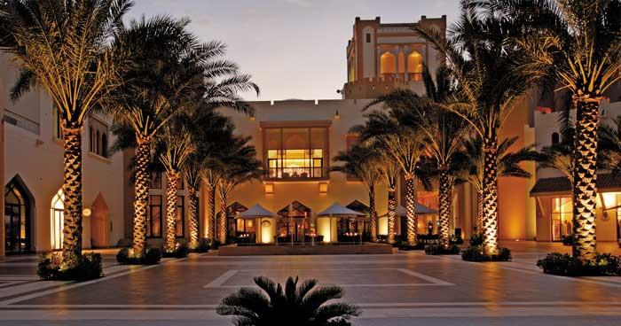 Entrance at Shangri-La's Barr Al Jissah Resort & Spa, Al Bandar