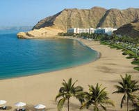 Beach at Shangri-La's Barr Al Jissah Resort & Spa, Al Bandar