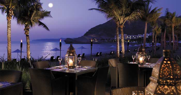 Evening Dining at Shangri-La's Barr Al Jissah Resort & Spa, Al Bandar