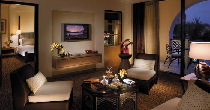 Living Room at Shangri-La's Barr Al Jissah Resort & Spa, Al Bandar