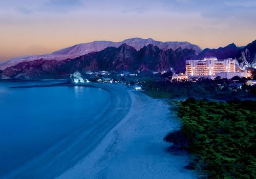 Beach Area at Al Bustan Palace, A Ritz-Carlton Hotel, Muscat