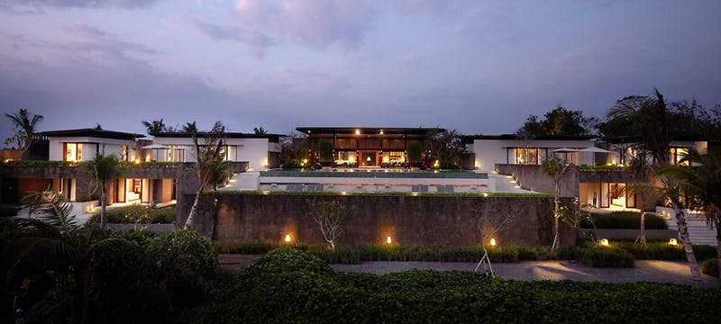 Ten bedroom residence exterior at Soori Bali