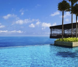 Swimming pool at Alila Villas Uluwatu