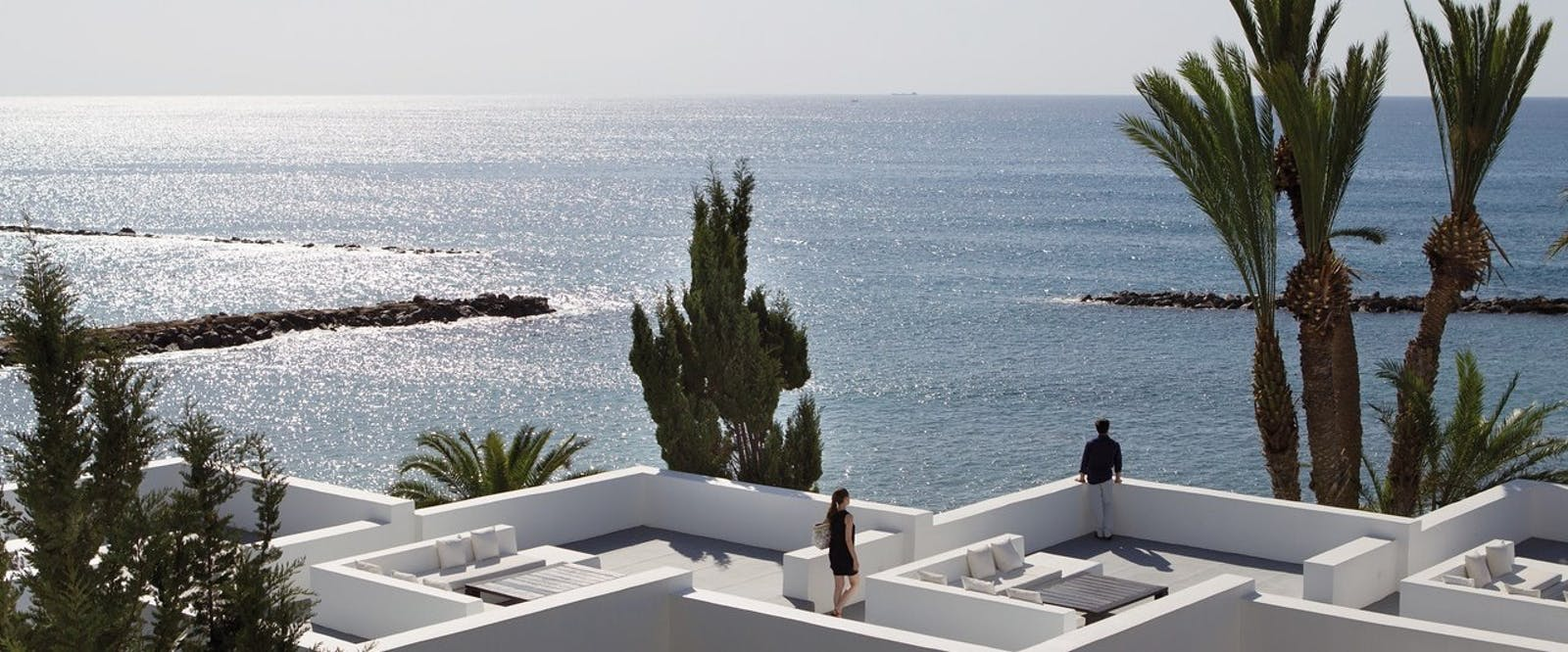 Beautiful Rooftop View at Almyra, Paphos, Cyprus