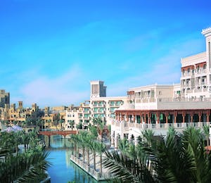 Outside Shot of Madinat Jumeirah, Al Qasr