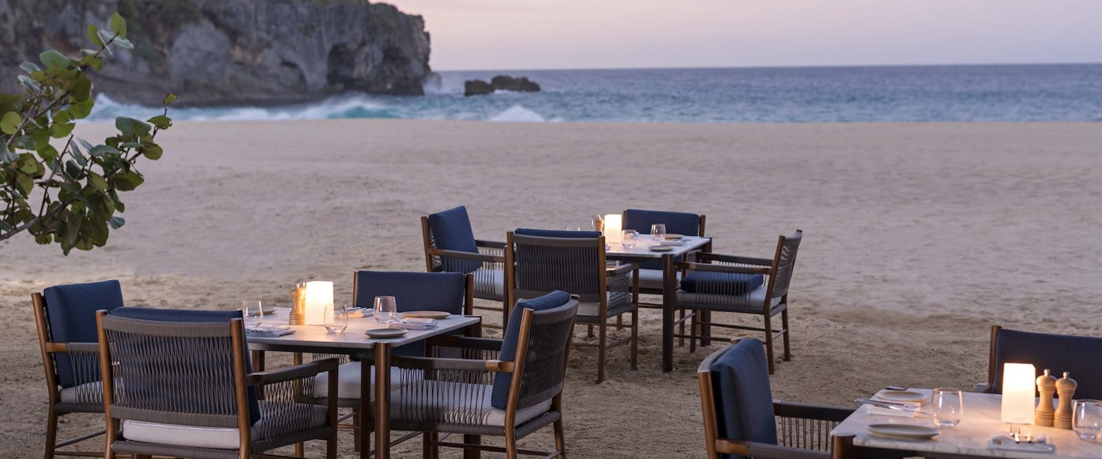 Beach Club Restaurant at Amanera, Dominican Republic