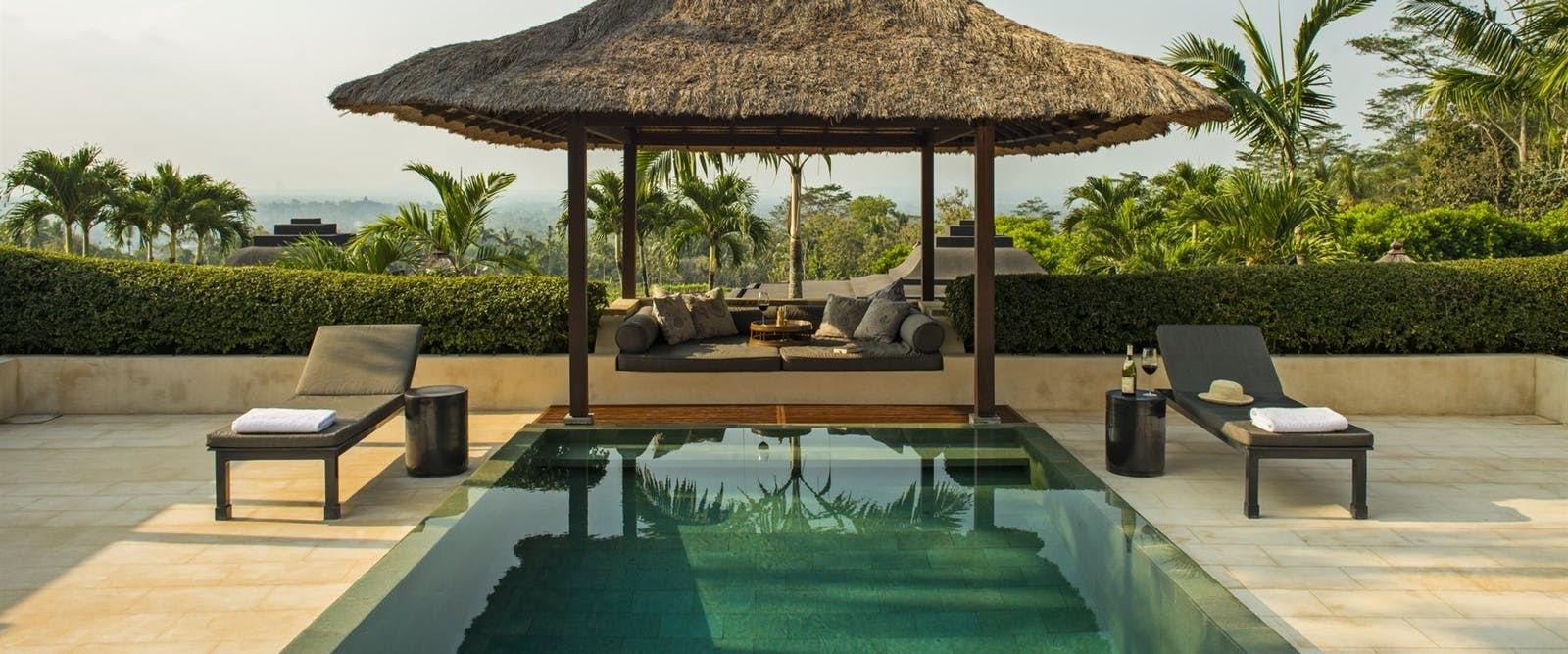 Garden Pool Pavilion at Amanjiwo, Bali