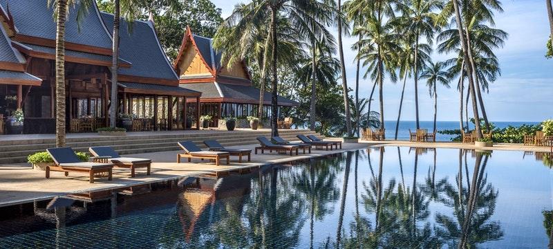 ocean pool pavilion at amanpuri phuket