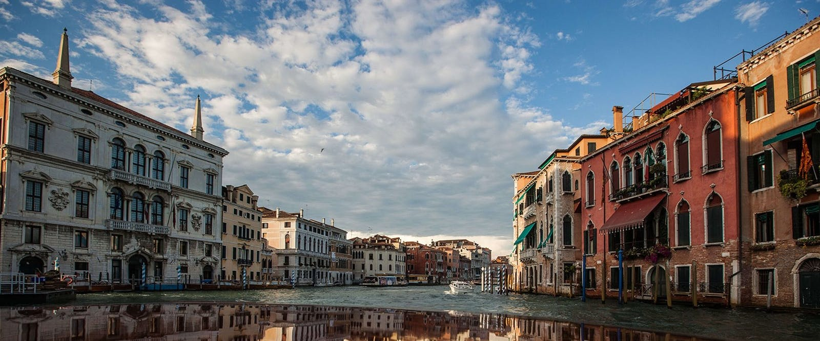 Grand Canal at Aman, Venice, Italy