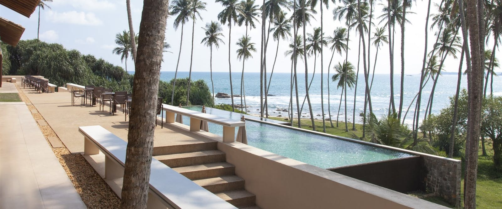 Swimming Pool at Amanwella, Sri Lanka