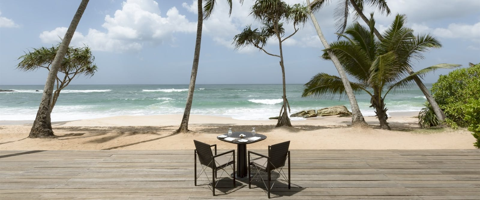 Al Fresco Dining at Amanwella, Sri Lanka