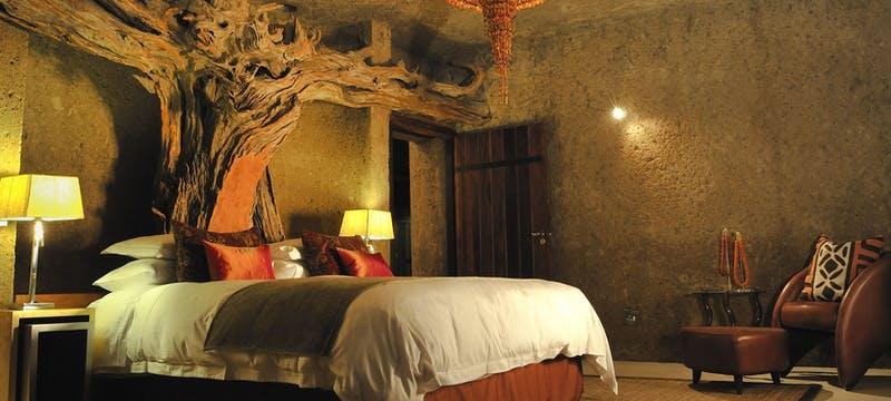 Amber Presidential Suite at Sabi Sabi Earth Lodge, South Africa