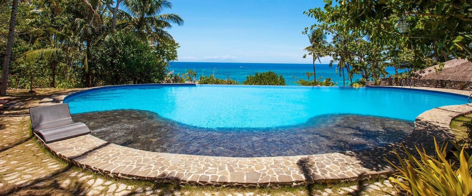Swimming Pool at Amun Ini Beach Resort & Spa, Philippines