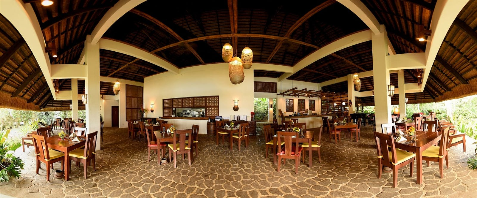 Restaurant at Amun Ini Beach Resort & Spa, Philippines
