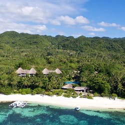Aerial View of Amun Ini Beach Resort & Spa, Philippines