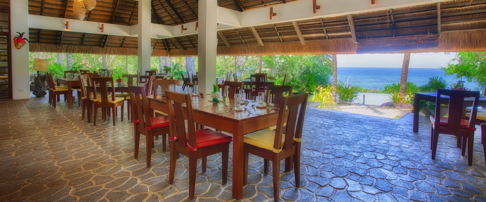 Dining With A View at Amun Ini Beach Resort & Spa, Philippines