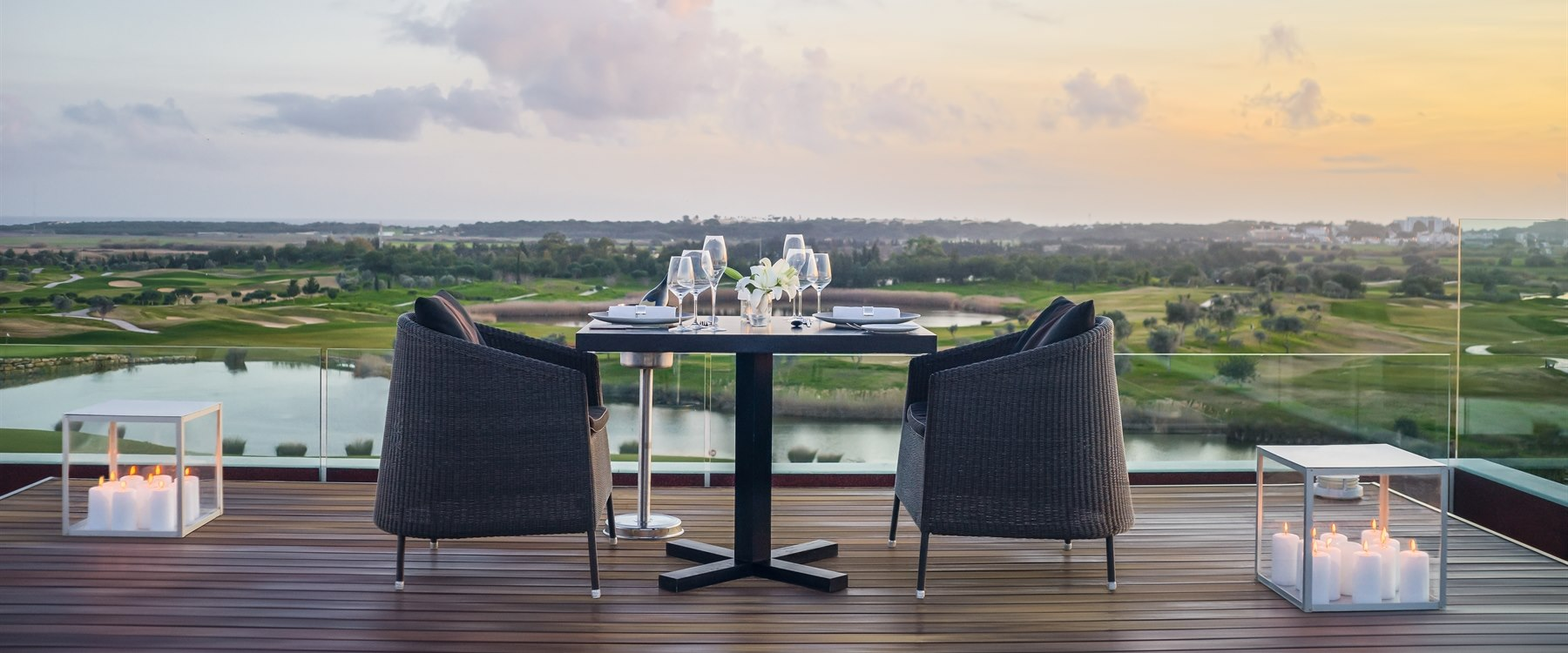 Presidential Suite Terrace at Anantara Vilamoura, Algarve