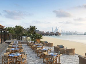 The Beach House Terrace at Anantara Dubai The Palm Resort & Spa