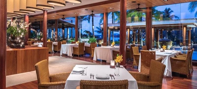 Dining at Andara Resort and Villas, Thailand