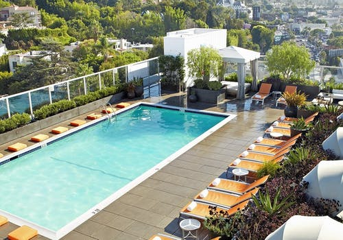 Pool At Andaz West Hollywood