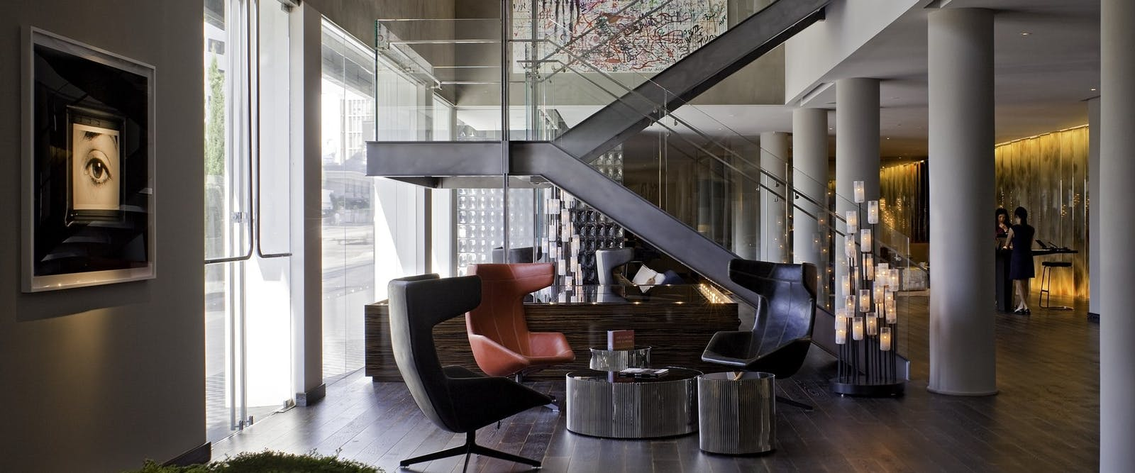 Lobby At Andaz West Hollywood