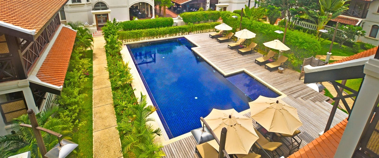 Swimming Pool at Ansara, Laos