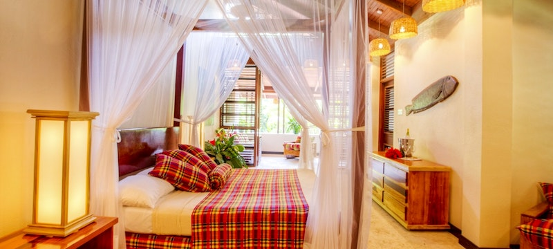 Deluxe Beachside Room at Anse Chastanet, St Lucia