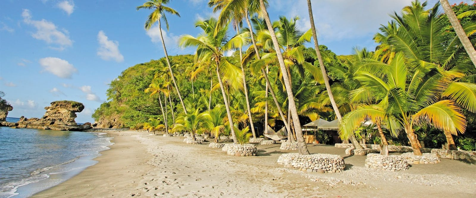 Beach Area at Anse Chastanet, St Lucia