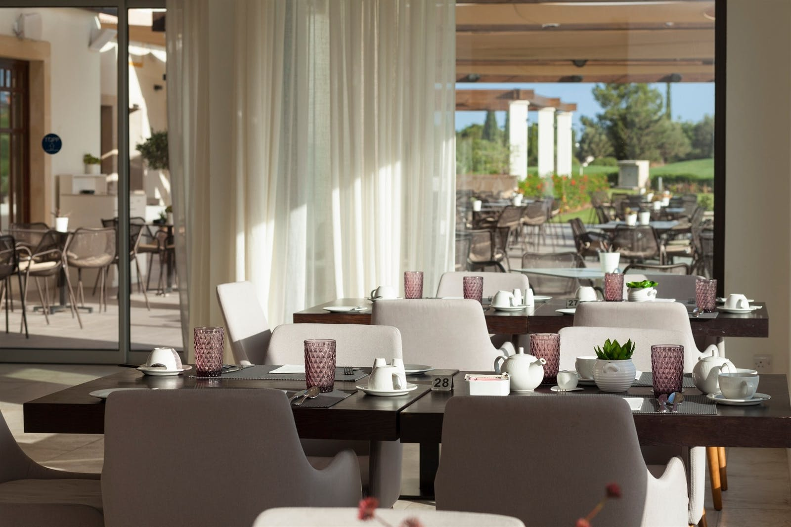 Dining Area at at Aphrodite Hills Villas & Apartments Golf Course, Cyprus