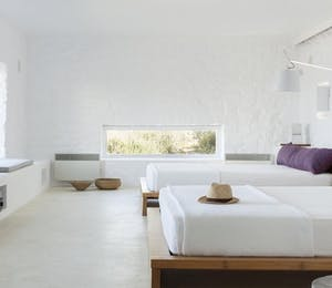 Bedroom at Apollnia, Mykonos Greece