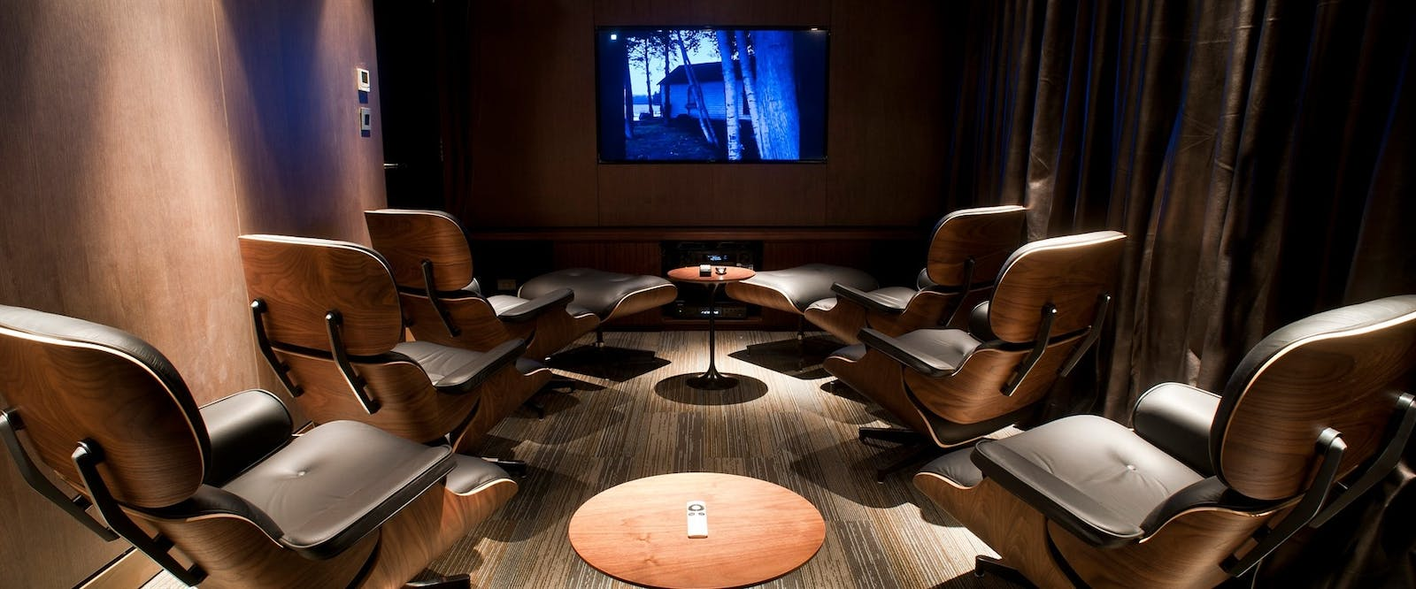 Private Cinema at Aqua Mekong, Cambodia and Vietnam