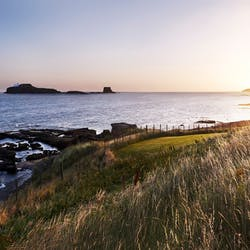 Waterfront Sunset at Archerfield House North Berwick, Scotland