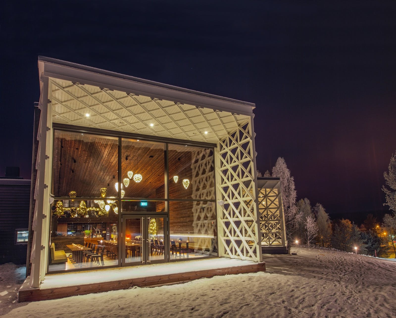 Rakas Restaurant and Bar, Arctic Treehouse Hotel, Finland