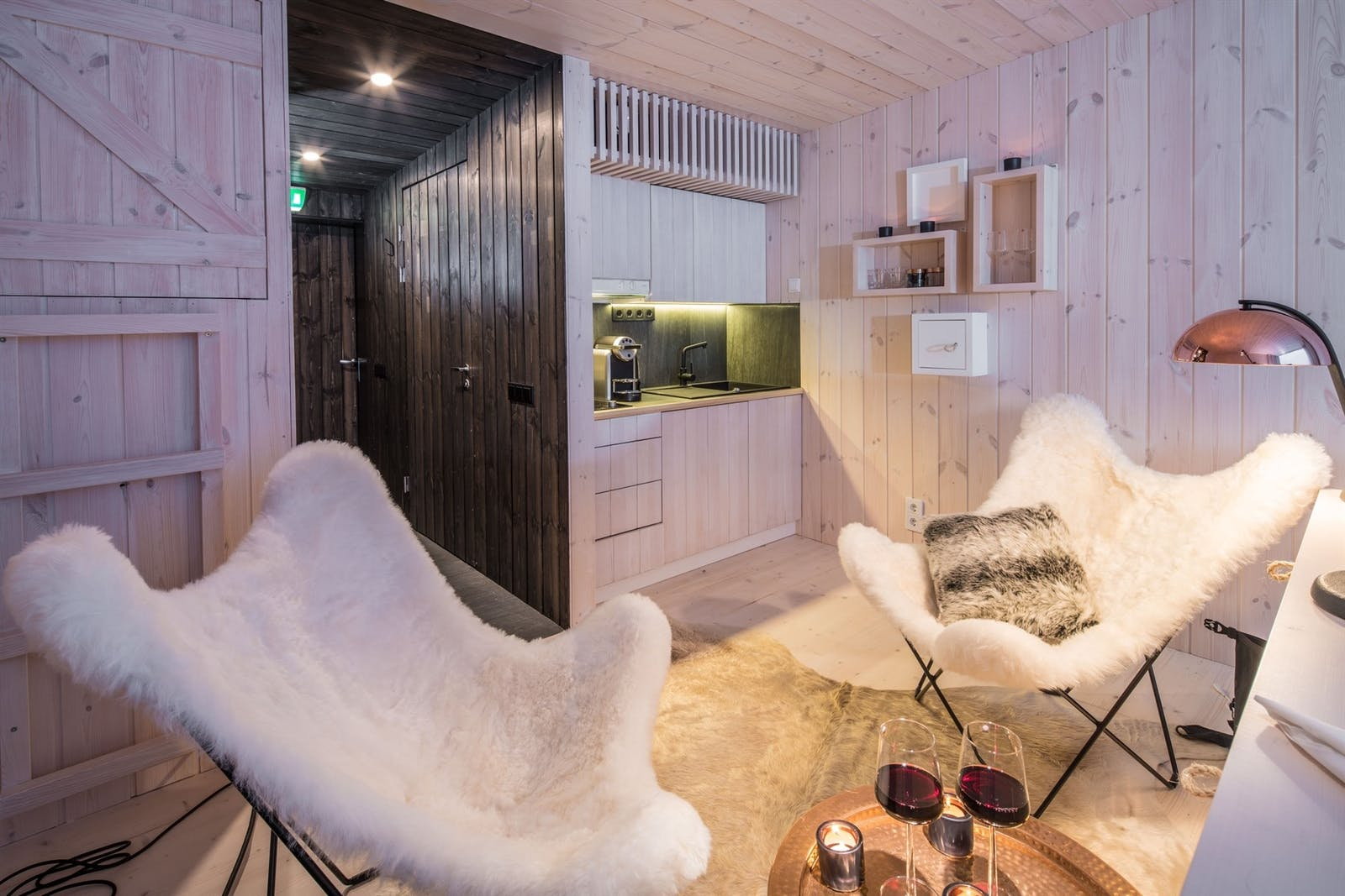 Suite with Kitchenette, Arctic Treehouse Hotel, Finland