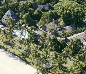 Aerial of Nay Palad Hideaway, Siargoa