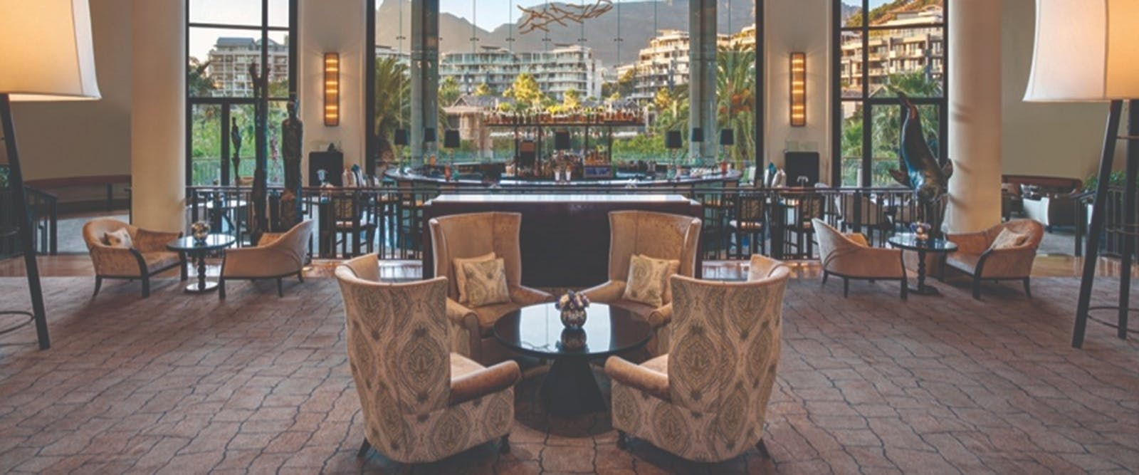 Vista Bar and Lounge at One & Only Cape Town, South Africa