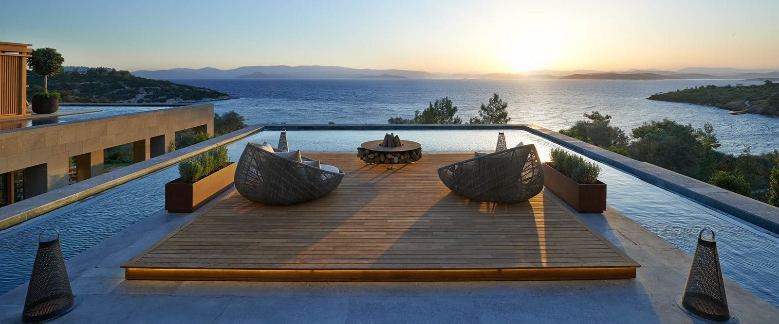 Arrival Deck at Mandarin Oriental Bodrum, Turkey