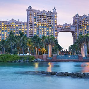 exterior view of atlantis bahamas
