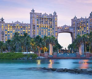 Exterior of atlantis bahamas