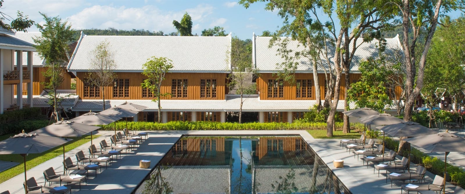 Avani luang prabang luxury laos hotel - Settha palace hotel swimming pool ...