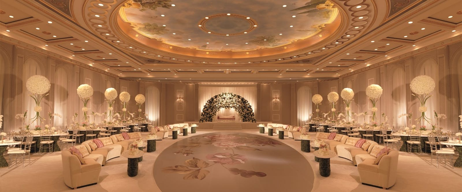 Ballroom at Villas at The Ritz-Carlton