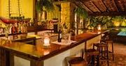Bar area at Pousada do Ouro, Brazil