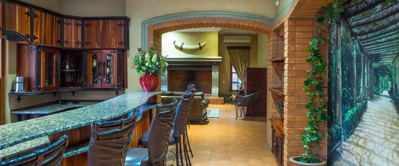 Bar at Castello di Monte, South Africa