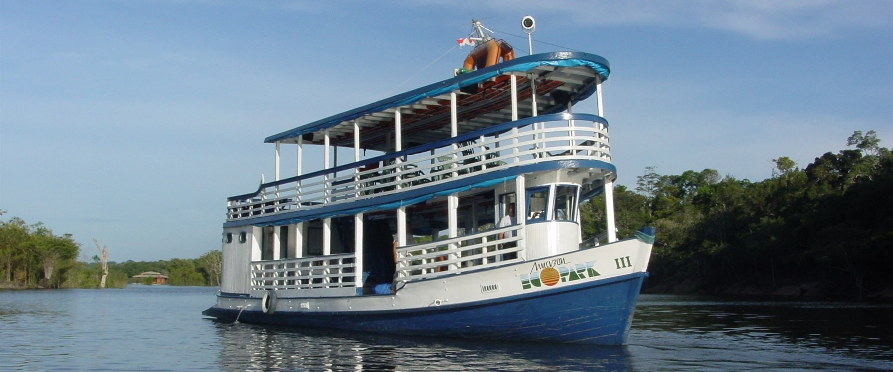 Boat excursion at Amazon Eco Park Jungle Lodge, Brazil