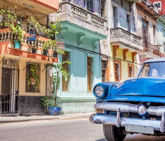 Cuba's East to West Self-Drive