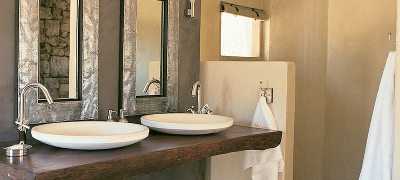 Bathroom at Onguma Private Game Reserve