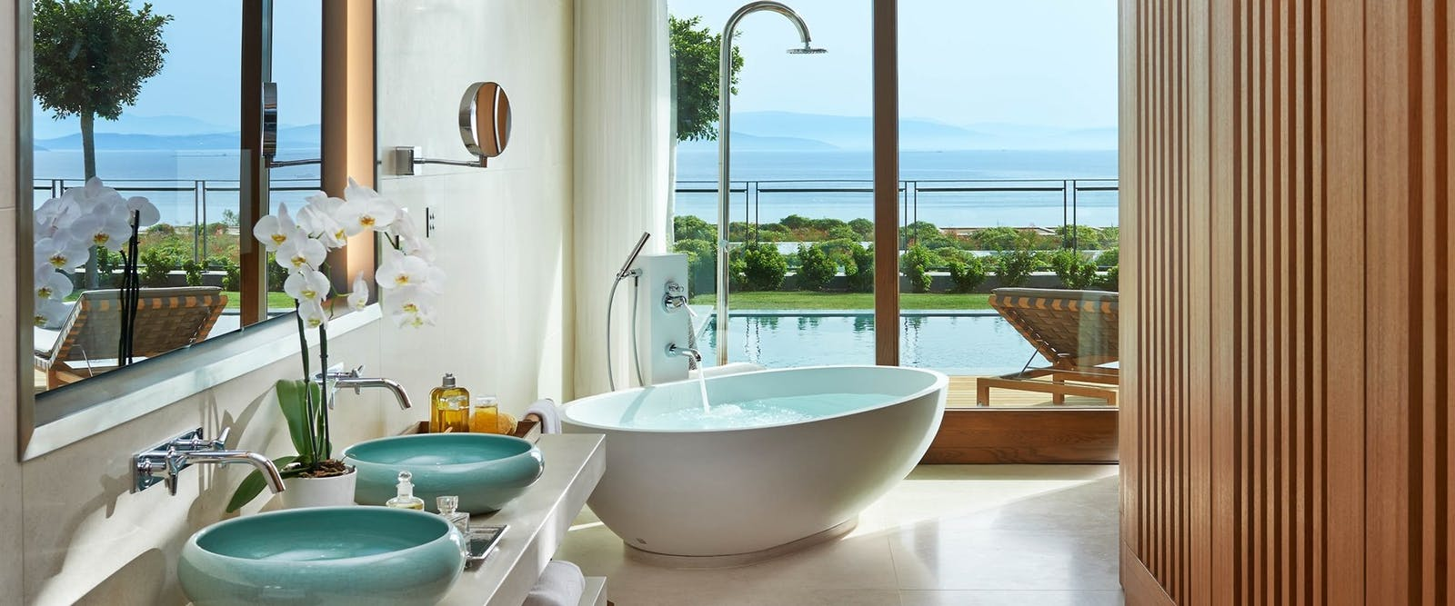 Bathroom, Mandarin Oriental Bodrum, Turkey