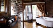 Bathroom at Serena Mivumo River Lodge
