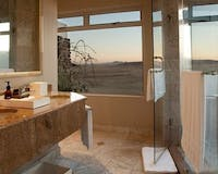 Bathroom at &Beyond Sossusvlei Desert Lodge
